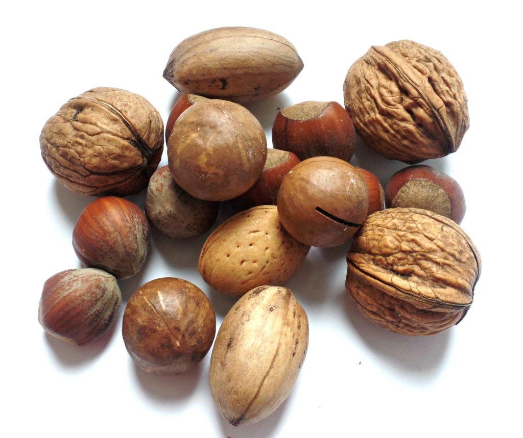 Продукт для мозга №4 - Орехи